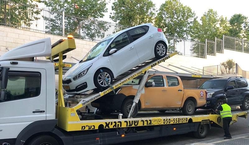 תפיסת רכבים על ידי המשטרה(צילום: דוברות המשטרה)