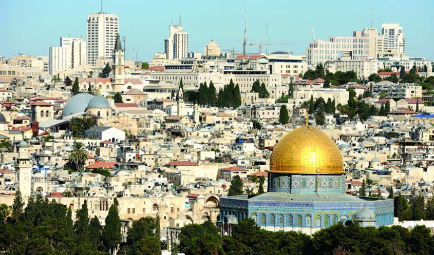 ירושלים, מראה כללי - הר הבית (צילום: א.ס.א.פ קריאייטיב INGIMAGE)