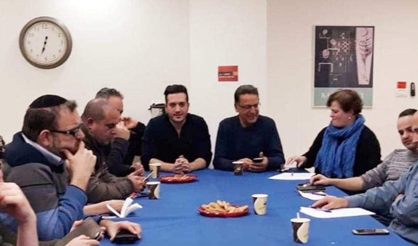 """ישיבת יושבי ראש המינהלים הקהילתיים בירושלים (צילום: פורום היו""""רים)"""