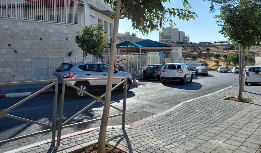 רחוב יצחק רפאל, הר חומה (צילום: לימור זלצמן)