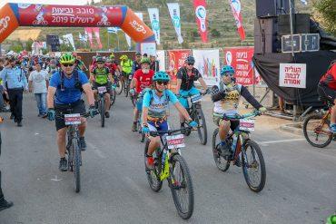אירוע האופניים סובב נביעות ירושלים (צילום: חברת כפיים)