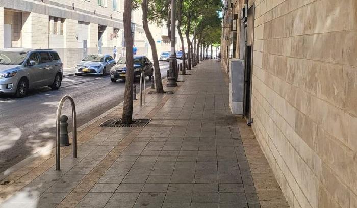 רחוב שושן (צילום: אופיר לנג)