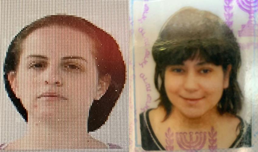 מימין: מאגי נידאם ורבקה מורגנשטרן (צילום: דוברות המשטרה)