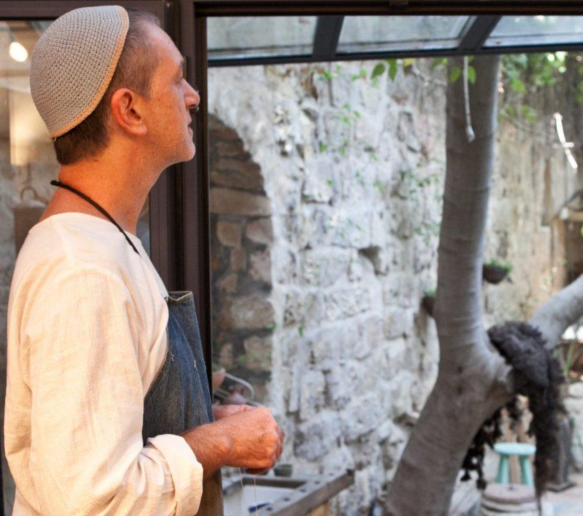 צדוק יהודה - טבעות נישואין בירושלים (צילום: אורי ברקת)
