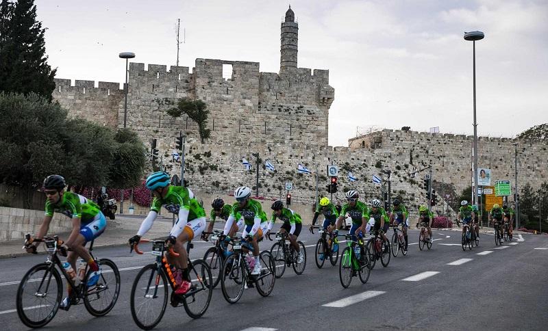 מרוץ GFNY (צילום: רועי קפח, GFNY ירושלים)