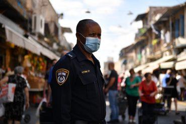כוחות המשטרה בחול המועד בירושלים (צילום: דוברות המשטרה)