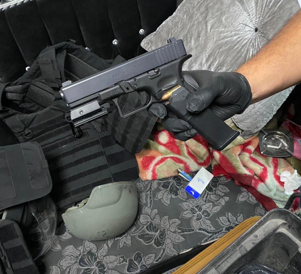 הנשק שנתפס (צילום: דוברות המשטרה)