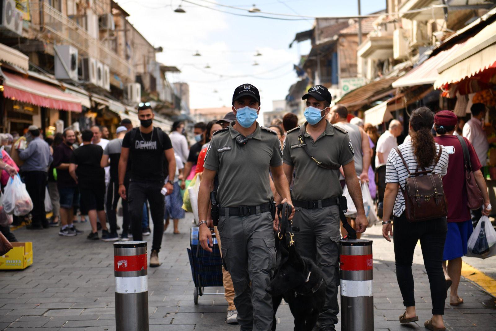 פעילות המשטרה בירושלים (צילום: דוברות המשטרה)