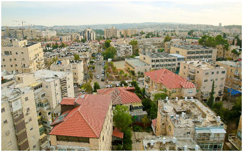 ירושלים כללי, מרכז העיר ירושלים צילום ארנון בוסאני