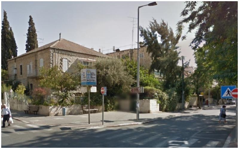 דרך בית לחם פינת רחוב יהודה צילום: גוגל מפות)