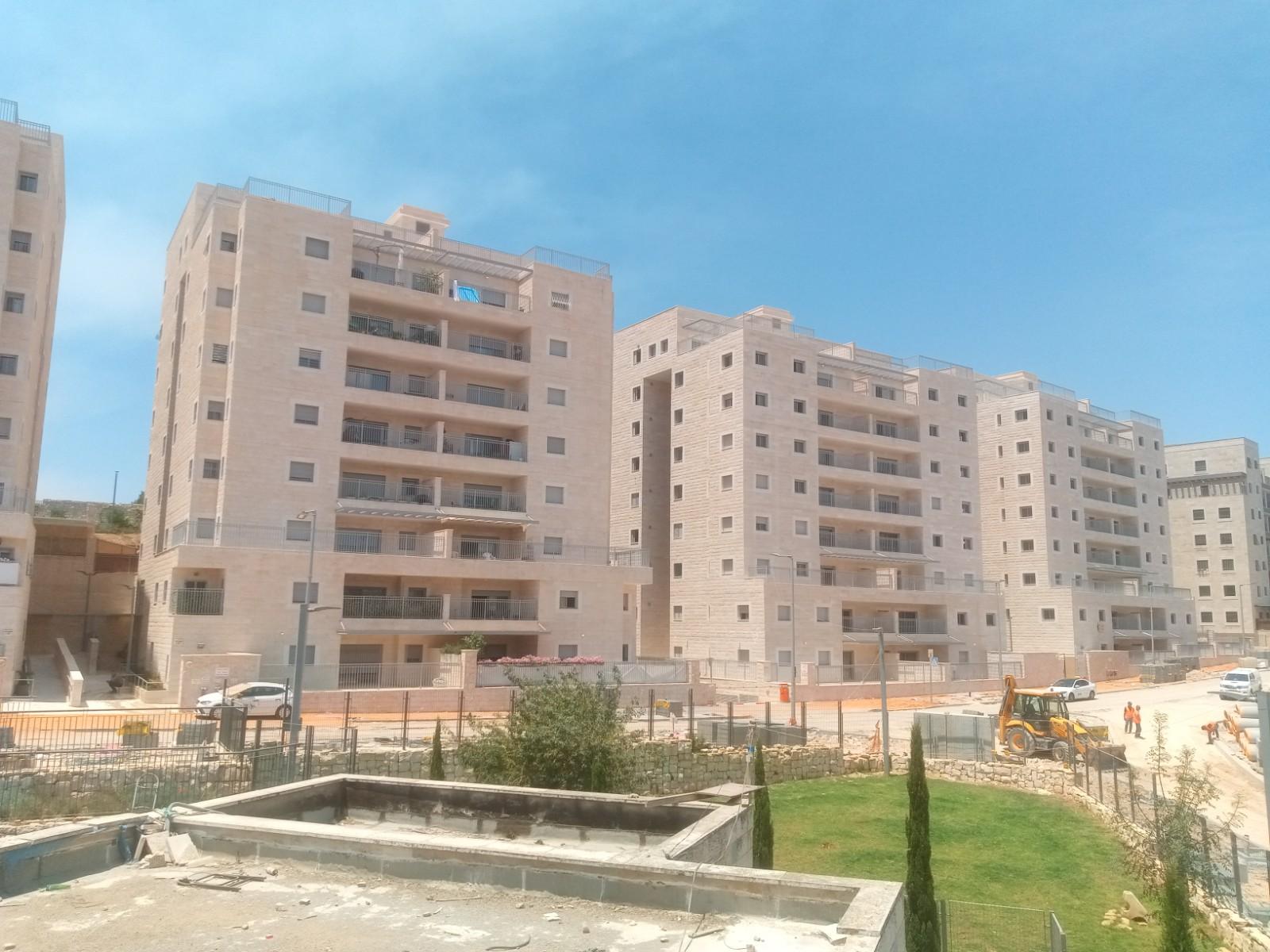 אכלוס הבניינים האחרונים בפרויקט (צילום: יורו ישראל)