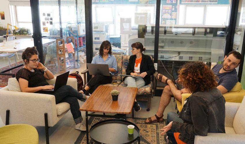 בית תוכנה עם מטרות חברתיות. קואפרטיב סופי | צילום: עצמי