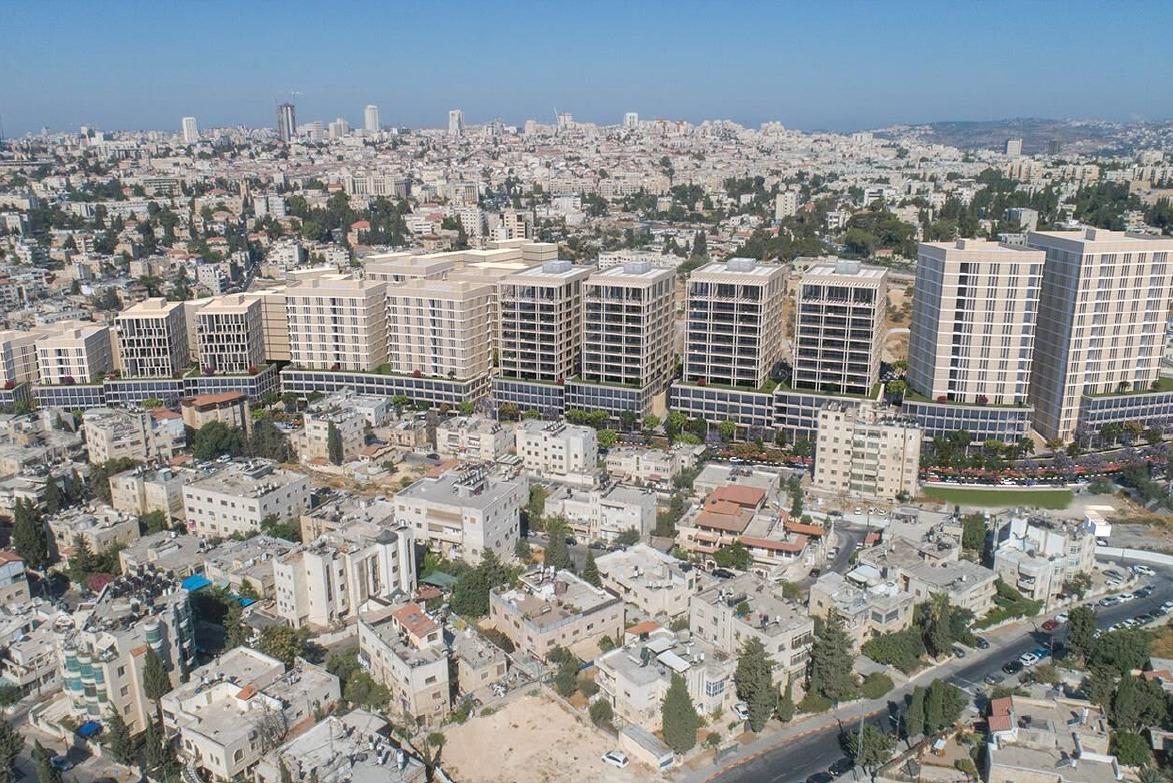 התוכנית בואדי ג'וז (הדמיה: הרשות לפיתוח ירושלים)