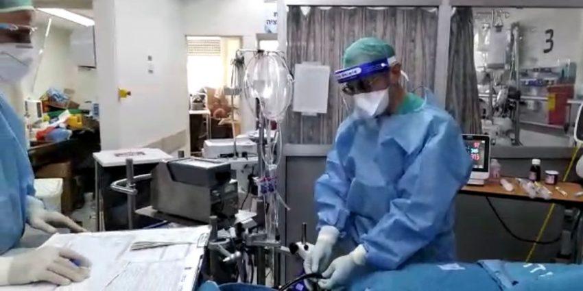 מחלקת קורונה במרכז הרפואי הדסה עין כרם - צילומים דוברות הדסה מאושר לרשת העיר (4)